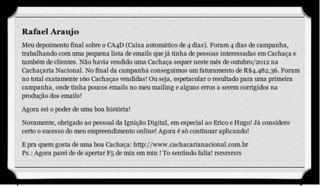 Depoimento Rafael Ignição Digital
