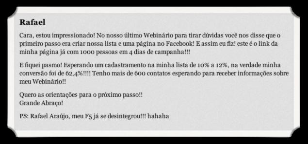 Testemunho Rafael Ignicao Digital