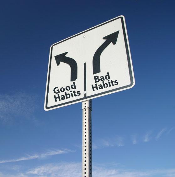 Mudança de hábito: o poder da exceção