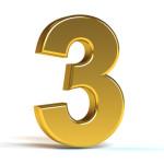 O seu sucesso é dividido pela regra dos 3 terços (O #3 é o mais importante)