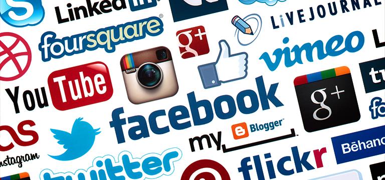 mídias sociais divulgação marketing digital